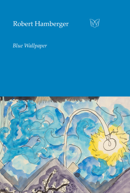 The cover of Blue Wallpaper