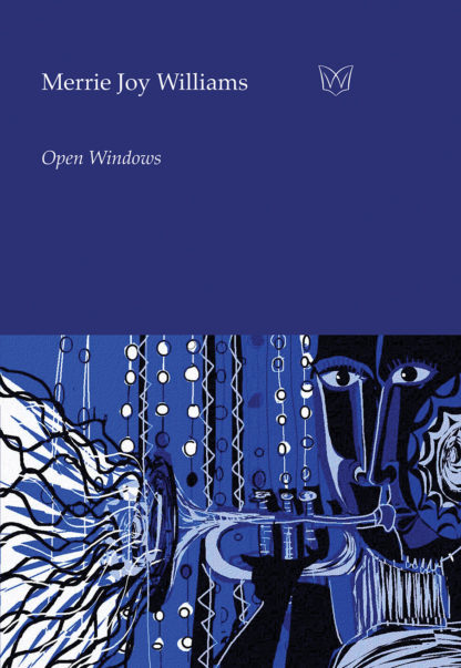 The cover of Open Windows. A painting of a black horn player.