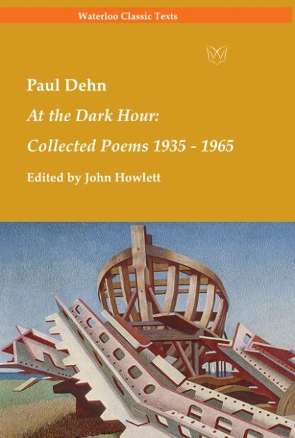Paul Dehn collected poems cover 2021
