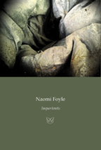 Cover of Importents by Naomi Foyle. An image of a wrinkled stone vortex.